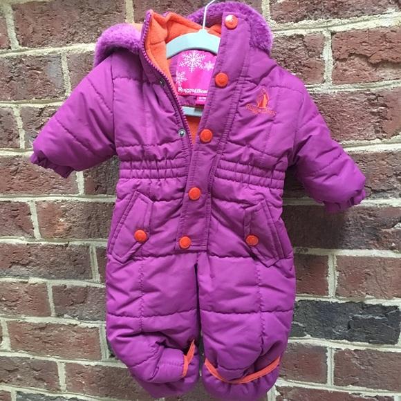 rugged bear jackets coats 03 month snowsuit poshmark. Black Bedroom Furniture Sets. Home Design Ideas